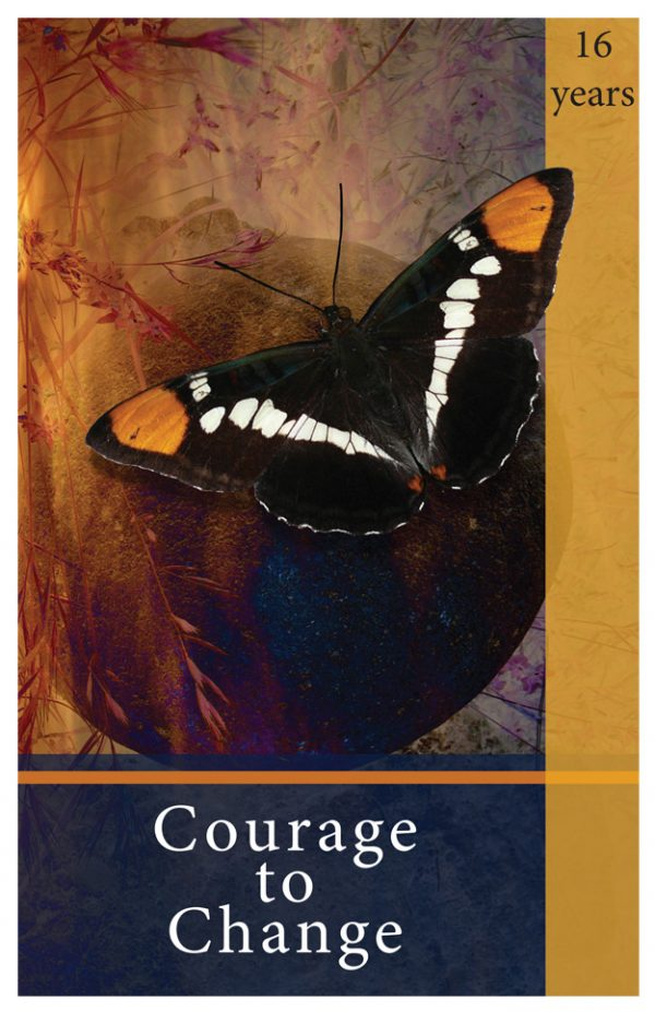 16 Year card - Courage to Change