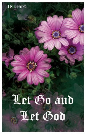 17 year card - Let Go and Let God